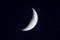 「長月六日」のお月さま。(27.10.18)(17:32)