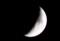 「長月七日」のお月さま。(27.10.19)(18:12)