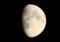 「長月十一日」のお月さま。(27.10.23)(18:04)