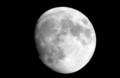 「十三夜」の名月。(27.10.25)