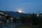 「長月十五日」・満月の月の出。(27.10.27)(17:22)