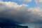 浅間にかかる雪雲に、「虹」が…?(27.12.3)
