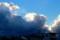 西空に、変わった雲が…。(27.12.3)