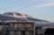 雪雲が消えた「浅間山」。(27.12.6)(7:05)