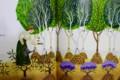 木を植えたケイトさん。(絵本より)