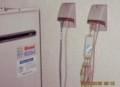 灯油ボイラーの凍結防止帯。(28.2.2)(5:15)