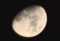 昨夜・正月十一日の残月。(28.2.19)(0:04)