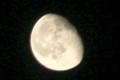 弥生「更待月・二十日」のお月さま。(28.4.26)(23:56)