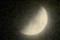 「卯月七日」のお月さま。(28.5.13)(21:06)