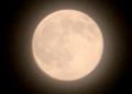 五月16日のお月さま、望・満月。(28.6.20)(20:59)