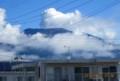 白煙が立ち上る「浅間山」。(28.8.21)