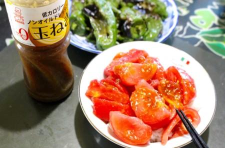 簡単レシピは「トマト丼」。(28.8.26)