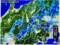 雨雲レーダー画像、佐久市周辺に大雨が…。(28.8.27)