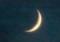 「八月五日」のお月さま。(28.9.5)(18:27)