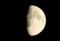 「八月十一日」のお月さま。(28.9.11)(18:37)