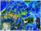雨雲レーダー画像、佐久地方に大雨が…。(28.9.13)
