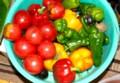 台所隅の、「野菜たち」。(28.9.18)