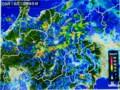 佐久地方を覆う、雨雲。828.9.18)