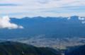 南アルプスの遠望、富士山も…。(28.10.6)