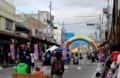 「岩村田商店街第1回バスケ祭」。(28.10.23)