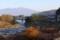 朝、お宿・海瀬館からの眺望。(28.11.13)