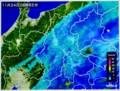 雨雲レーダー画像。(28.11.24)(8:55)