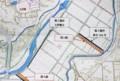 排水溝の改修工事・計画図面。(28.12.9)