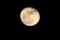 「霜月十七日」の月の出。(28.12.15)(18:45)
