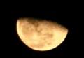 「霜月二十一日」の月の出。(28.12.19)(22:44)