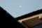 朝、「霜月二十三日」・「下弦」の月。(28.12.21)(6:49)