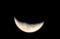 画像を、水平近くに変更した「お月さま」。(28.12.23)(5:56)
