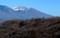 立科町塩沢付近からの「浅間山」。(29.1.7)