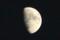 「十二月十日」のお月さま。(29.1.7)(17:03)