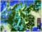 雨雲(雪雲)レーダー画像。(29.1.13)
