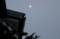 雪雲を透かし、昨夜・十七日の月が…。(29.1.15)(6:48)