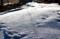 「賢治ガーデン」、雪の原。(29.1.22)