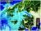 雨雲がかかり始めた「佐久盆地」。(29.2.5)(9:30)