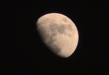 「正月十日」のお月さま。829.2.6)(17:39)
