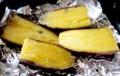 「シルクスイート・薩摩薯」で焼き芋作り。(29.3.13)