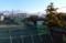 朝日が輝いて、「浅間山」がくっきりと…。(29.3.17)(6:42)