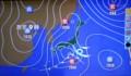 太平洋に低気圧、内陸地方には雪の予報が…。(29.3.20)