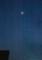 西空高く、「三月三日」のお月さま。(29.3.30)(18:38)