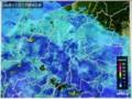 雨雲レーダー画像。(29.4.11)