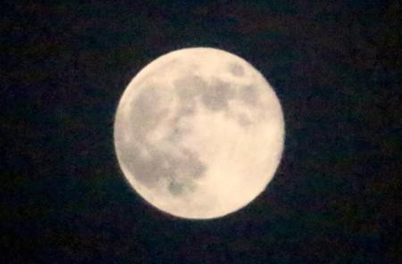 「三月十五日」、満月(月齢14.0、望/15:08)(29.4.11)(22:40)