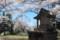 「藤城神社」と周囲の桜。(29.4.23)