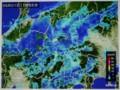 期待の雨、雨雲レーダー画像。(29.5.1)
