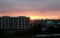 西空に、日が沈む。(29.5.27)(18:43)