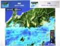 朝の雨雲レーダー画像。(29.6.28)