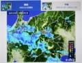 「雨雲レーダー」画像。(29.6.29)