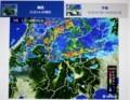 大雨時の「雨雲レーダー画像」(29.7.1)